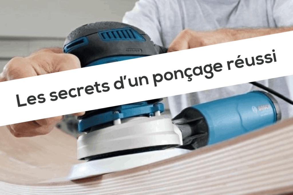 Les secrets d'un ponçage réussi