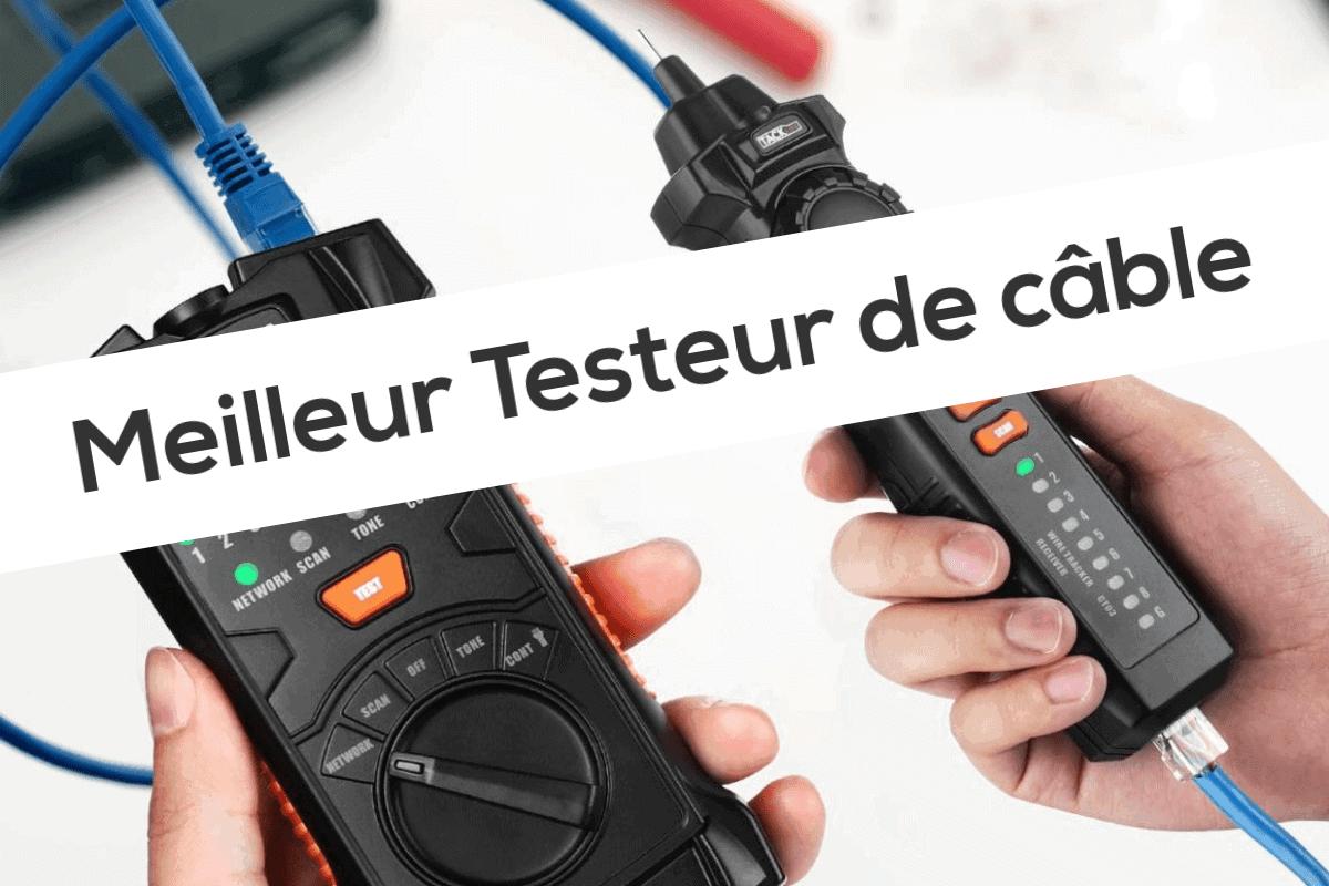 Incutex d/étecteur de c/âbles r/éseau testeur RJ45//RJ11 pour lignes t/él/éphoniques et c/âbles LAN d/étecteur de lignes