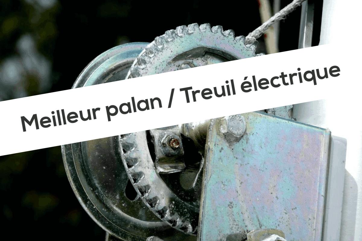 Meilleur palan Treuil électrique