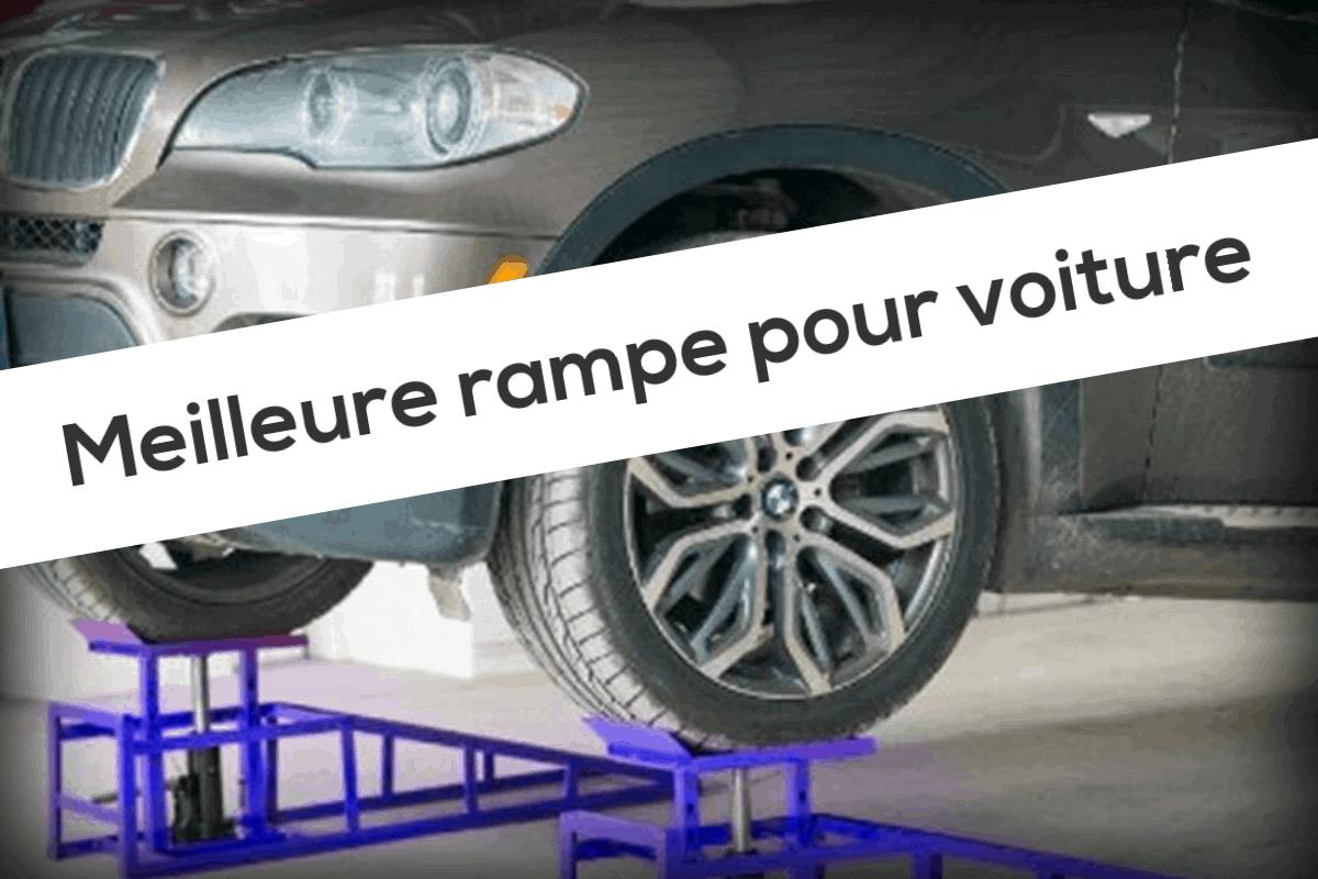 WilTec Rampe de Levage Jacks hydrauliques 2000kg r/églable en Hauteur pour pneus /à 225mm